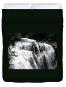 Bald River Falls Duvet Cover