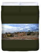 Bald Rock Panorama Duvet Cover