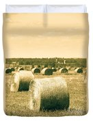 Baled And Ready Duvet Cover