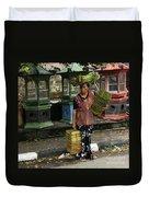 Bali Indonesia Proud People 1 Duvet Cover