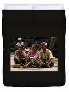 Bali Indonesia Proud People 3 Duvet Cover