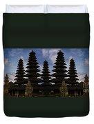 Bali Water Temple Duvet Cover