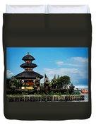 Bali Wayer Temple Duvet Cover