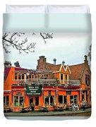 Balkan Restaurant In Enkhuizen-netherlands Duvet Cover