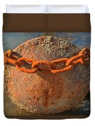 Ball And Chain Duvet Cover by Adam Jewell