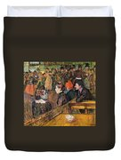 Ball At The Moulin De La Galette Duvet Cover