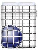 Ball In The Net Duvet Cover