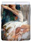 Ballerina 22 Duvet Cover