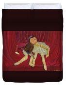 Ballerina And Partner Duvet Cover