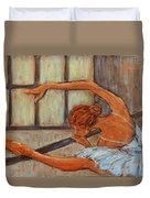 Ballerina II Duvet Cover by Xueling Zou