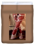 Ballerina With Bows 2 Duvet Cover