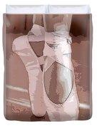 Ballet Slippers Duvet Cover