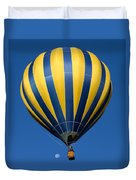 Balloon And The Moon Duvet Cover