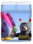 Balloon Bug Talk Duvet Cover