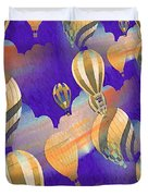 Balloon Fantasy Duvet Cover