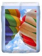 Balloon Fist Bump Duvet Cover
