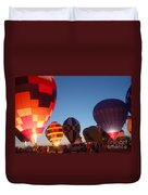 Balloon-glow-7783 Duvet Cover