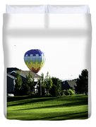 Balloon House Duvet Cover