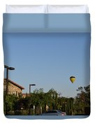 Balloon Over Lorimar Duvet Cover