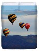 Balloon Rise Duvet Cover