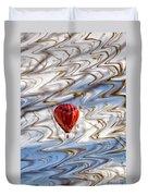 Balloon Shimmy Duvet Cover