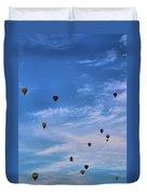Balloons Galore Duvet Cover