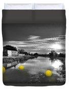 Balls Of Athelney  Duvet Cover