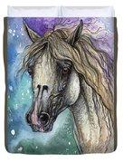 Balon Polish Arabian Horse Portrait 4 Duvet Cover