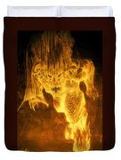 Balrog Of Morgoth Duvet Cover by Curtiss Shaffer