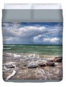 Baltic Beach Duvet Cover