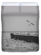 Baltic Sea-gulls Duvet Cover