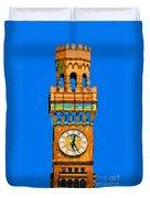 Baltimore Clock Tower Duvet Cover
