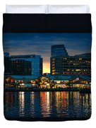 Baltimore Harborplace Light Street Pavilion Duvet Cover