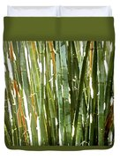 Bamboo Abstract Duvet Cover