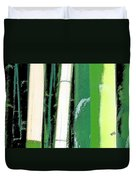 Bamboo Abstraction Duvet Cover