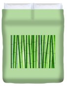 Bamboo Forest Background 2 Duvet Cover