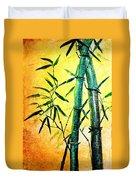 Bamboo Magic Duvet Cover by Nirdesha Munasinghe