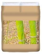 Bamboo Stems Duvet Cover