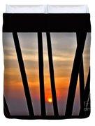 Bamboo Sunset Duvet Cover