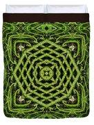 Bamboo Symmetry Duvet Cover