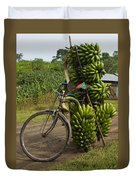 Banana Bike Duvet Cover
