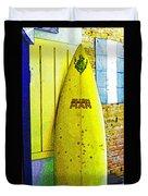 Banana Board Duvet Cover