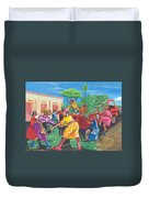 Banana Delivery In Cameroon 01 Duvet Cover