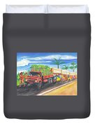 Banana Delivery In Cameroon 02 Duvet Cover
