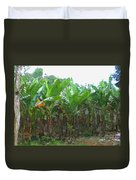 Banana Field Duvet Cover