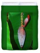Banana Tree Bud Duvet Cover