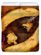 Bananas Pop Art Duvet Cover