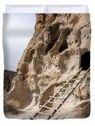 Bandelier Caveate - Bandelier National Monument New Mexico Duvet Cover