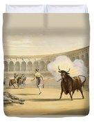 Banderillas De Fuego, 1865 Duvet Cover