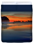 Bandon Foggy Fire Duvet Cover